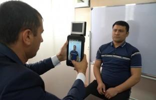 Mahkumlarga ID kartalar rasmiylashtirildi