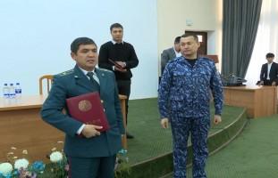 Награждение дипломом инспектора профилактической службы состоялось